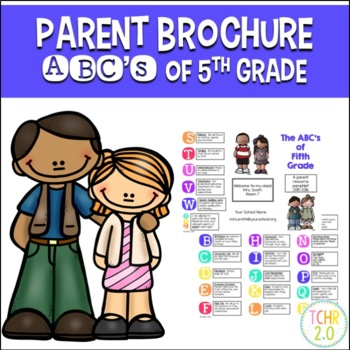 Parent Brochure Fifth Grade