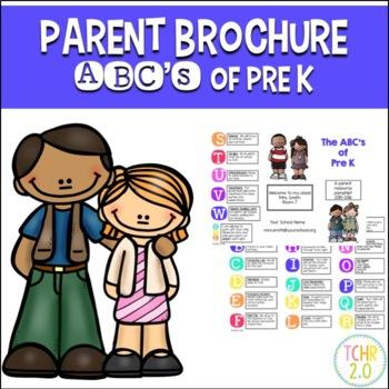 Parent Brochure Pre K