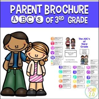 Parent Brochure Third Grade