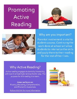 Parent Brochure on Active Reading
