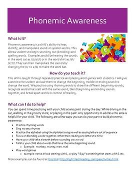 Parent Brochure on Active Reading