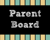 Parent Bulletin Board Complete Bundle Back to school.