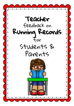 Parent & Child Feedback on Running Record
