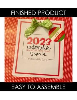 Parent Christmas Gift {2019 Calendar}