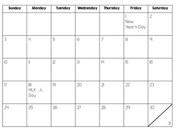 Parent Christmas Gift: 2016 Calendar
