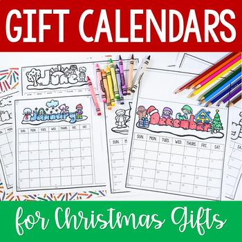 parent christmas gift 2018 calendar gift idea by jennifer findley
