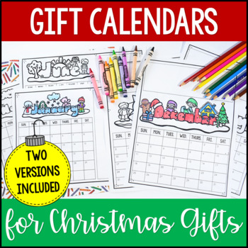 Parent Christmas Gift 2020 Calendar Gift Idea Two Versions Only