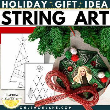 Parent Christmas Gift / Christmas Activity String Art BUNDLE (3 ...