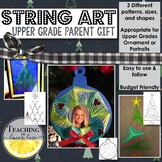 Christmas Gift for Parents / Parent Christmas Gift / Activity String Art