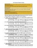 Parent Climate/Culture Survey