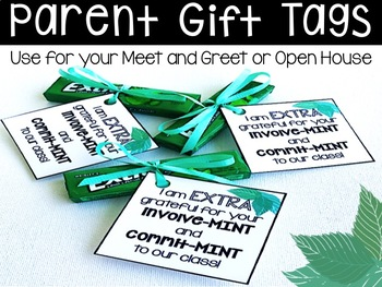 Parent (Commit-MINT and Involve-MINT) Gift Tag