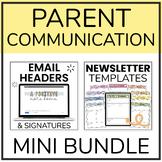 Parent Communication BUNDLE | Digital Newsletter Templates & Email Headers