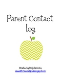 Parent Communication Binder Inserts