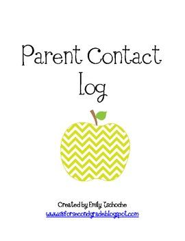 Parent Communication Binder Inserts