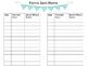 Parent Communication Binder/Log and Office Communication Log