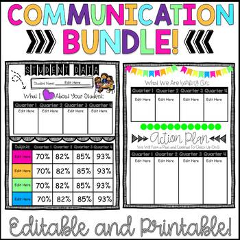 Parent Communication Bundle!