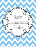 Parent Communication Bundle