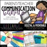 Parent Communication Bundle (EDITABLE)