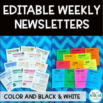 Parent Communication: Classroom Newsletter Templates, Parent Teacher Conferences
