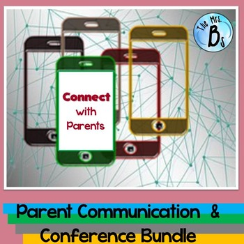 Parent Communication & Conference Bundle - Includes S.M.A.R.T. Goals!