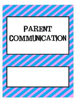 Parent Communication Set