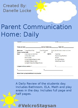 Parent Communication Daily