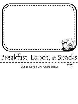 First Week of School - Parent Communication Flip Book