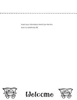 Parent Communication Flipbook (Editable) Superhero theme