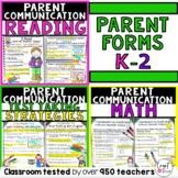 Parent Communication Positive Notes Home