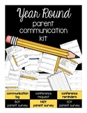 Parent Communication Forms for ALL YEAR