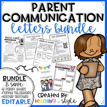 Parent Communication Bundle *EDITABLE