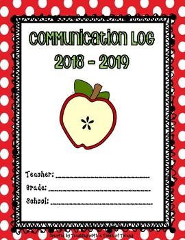 Parent Communication Log (Apple Design)