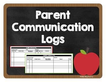Parent Communication Log (PLUS At-Risk Student Log)