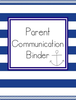 Parent Communication Log, Parent Teacher Conference Planner, Parent Survey