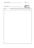 Parent Communication Log Sheet or Observations Log Sheet or both