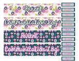 Parent Communication Log Stickers