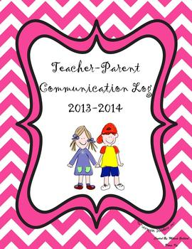 Parent Communication Log for Teachers