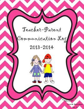 Parent Communication Log for Teachers