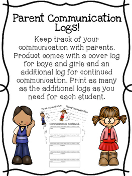 Parent Communication Logs