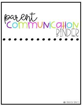 Parent Communication Logs