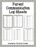 Parent Communication Logs {Gray}