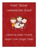 Parent Communication Packet 7