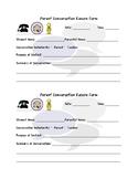 Parent Communication Record Form FREEBIE!