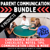 Parent Communication Resources Bundle