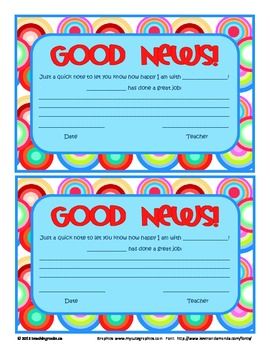 Parent Communication: Sharing Good News!