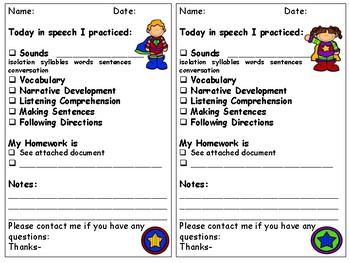 Parent Communication Sheets MEGA Bundle