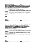 Parent Communication Slip- English and Spanish