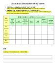 Parent Communication Survey 跟爸媽溝通調查