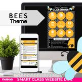 Parent Communication Template | Google Slides | Class Website | BEES