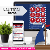 Parent Communication Template | Google Slides | Class Website | NAUTICAL